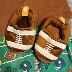 Football Pajama Shoes